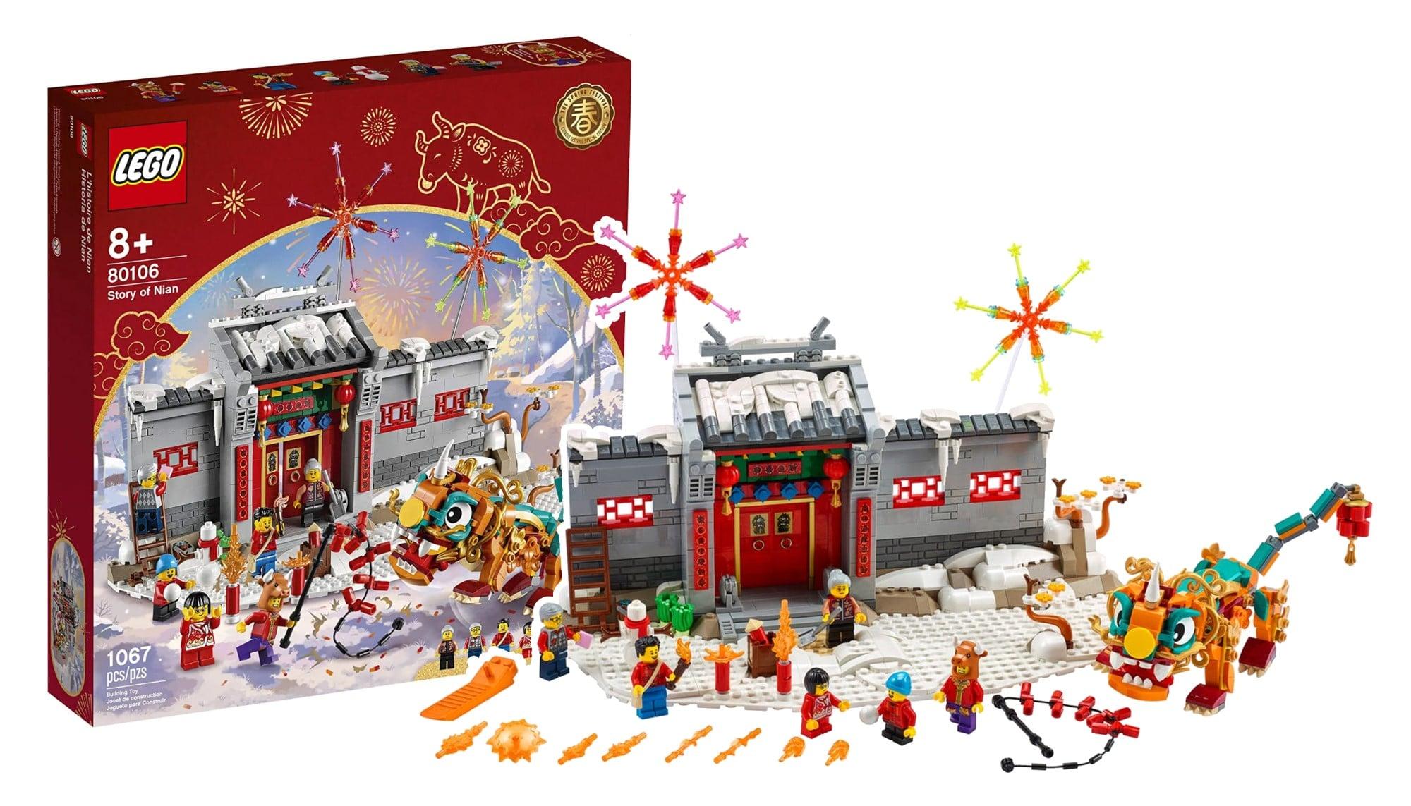 LEGO Chinese New Year 80106 Geschichte Von Nian Scaled