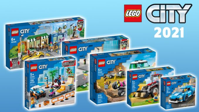 LEGO City 2021 Neuheiten Titelbild