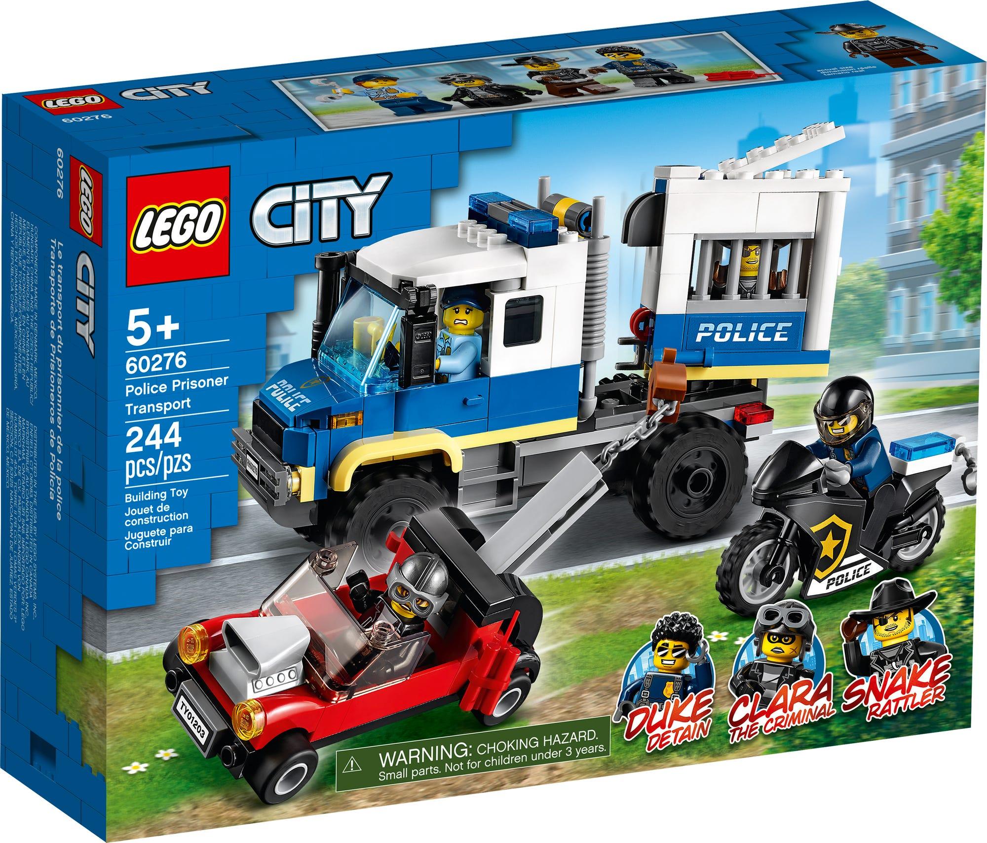 LEGO City 60276 Gefangenentransporter (2)