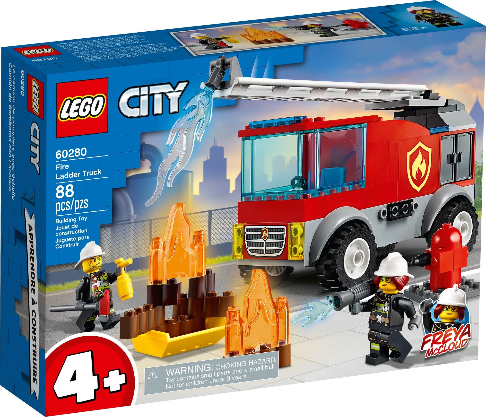 LEGO City 60280 Feuerwehrauto Mit Leiter (2)