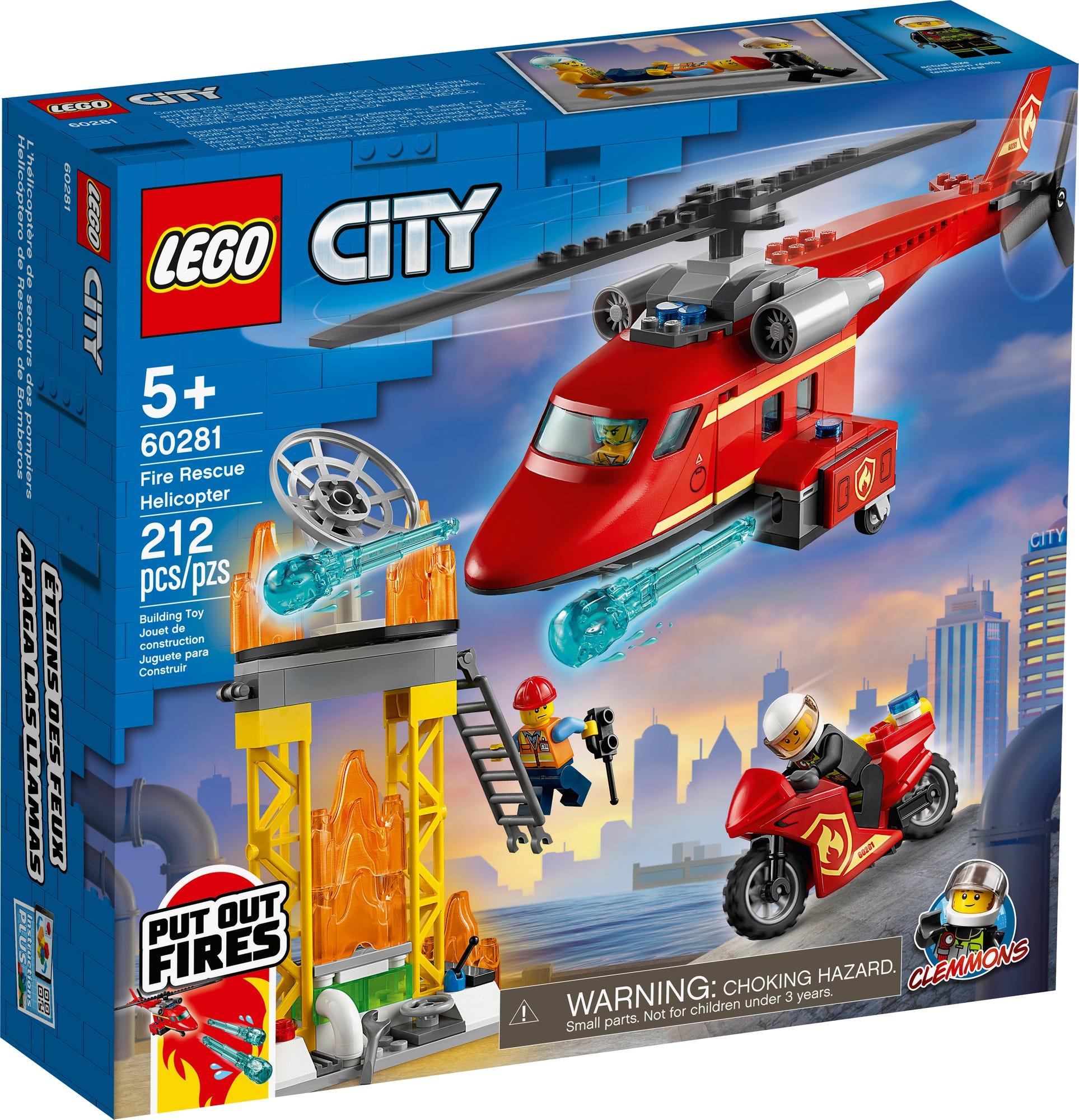 LEGO City 60281 Feuerwehrhubschrauber (2)