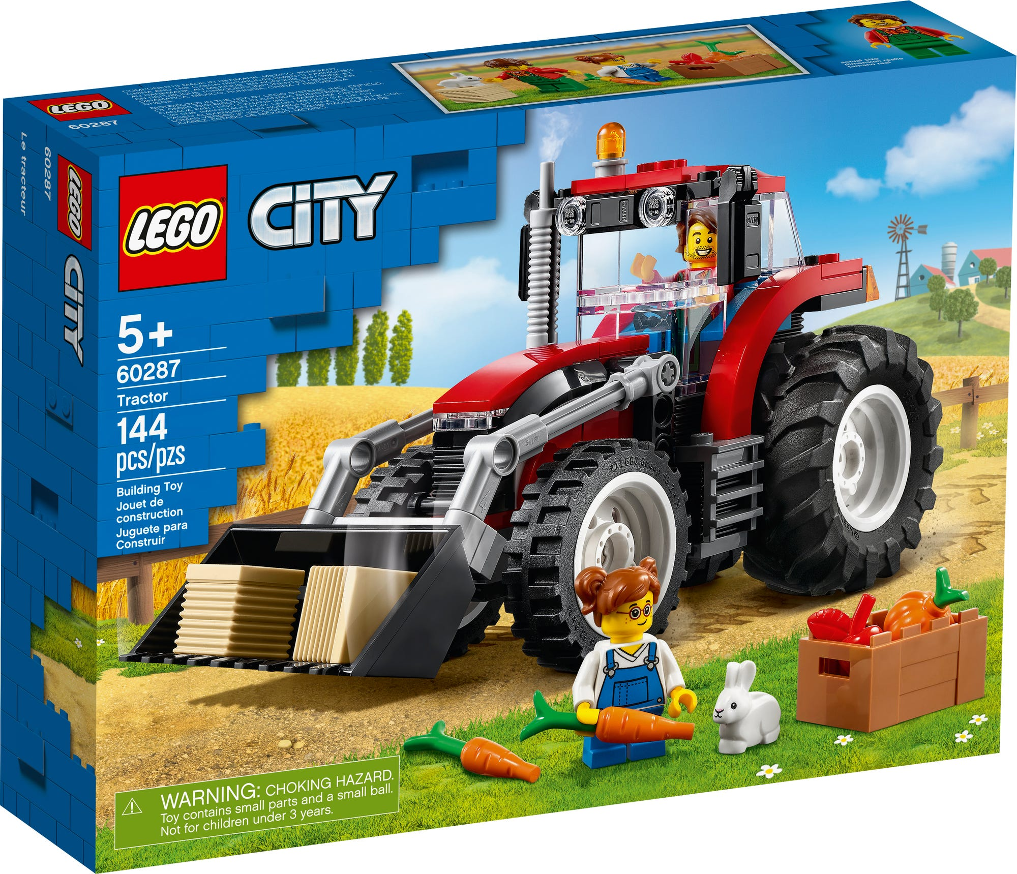 LEGO City 60287 Traktor (2)