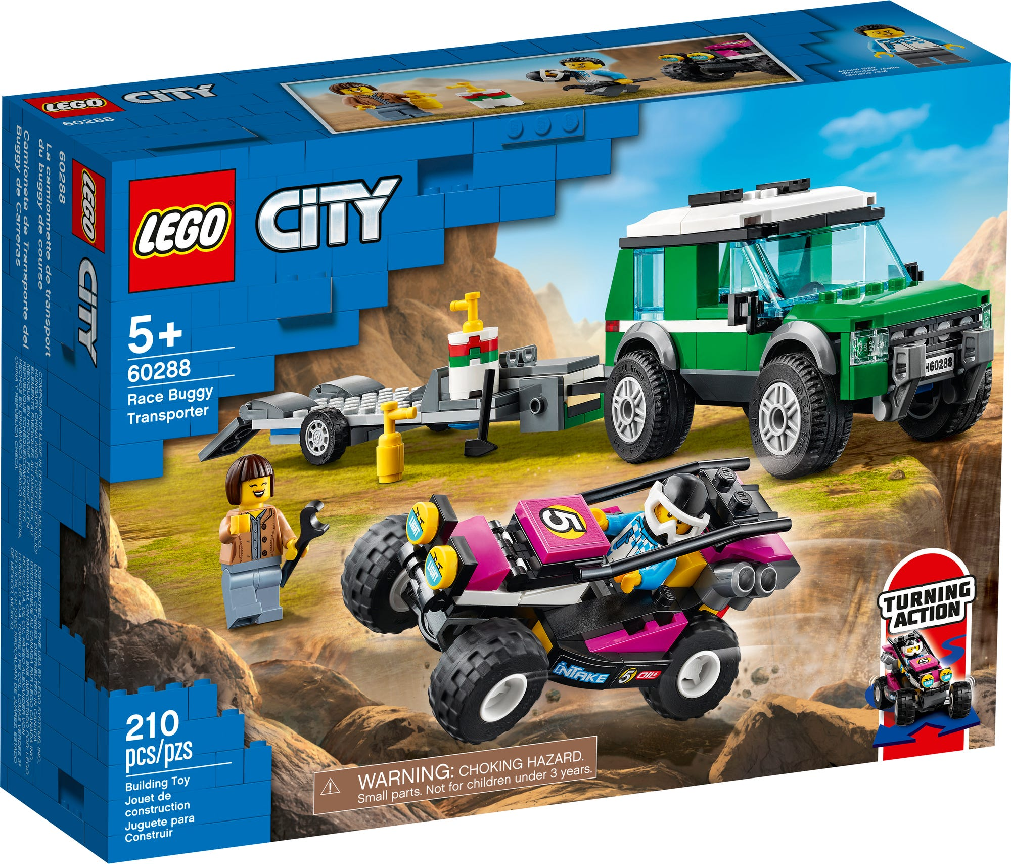 LEGO City 60288 Rennbuggy Transporter (2)