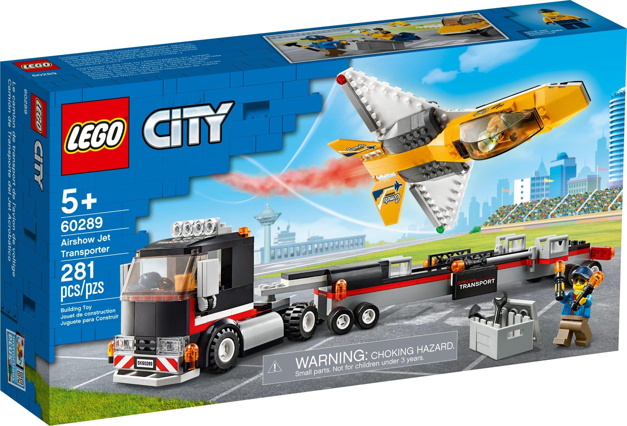 LEGO City 60289 Flugshow Jet Transporter (2)