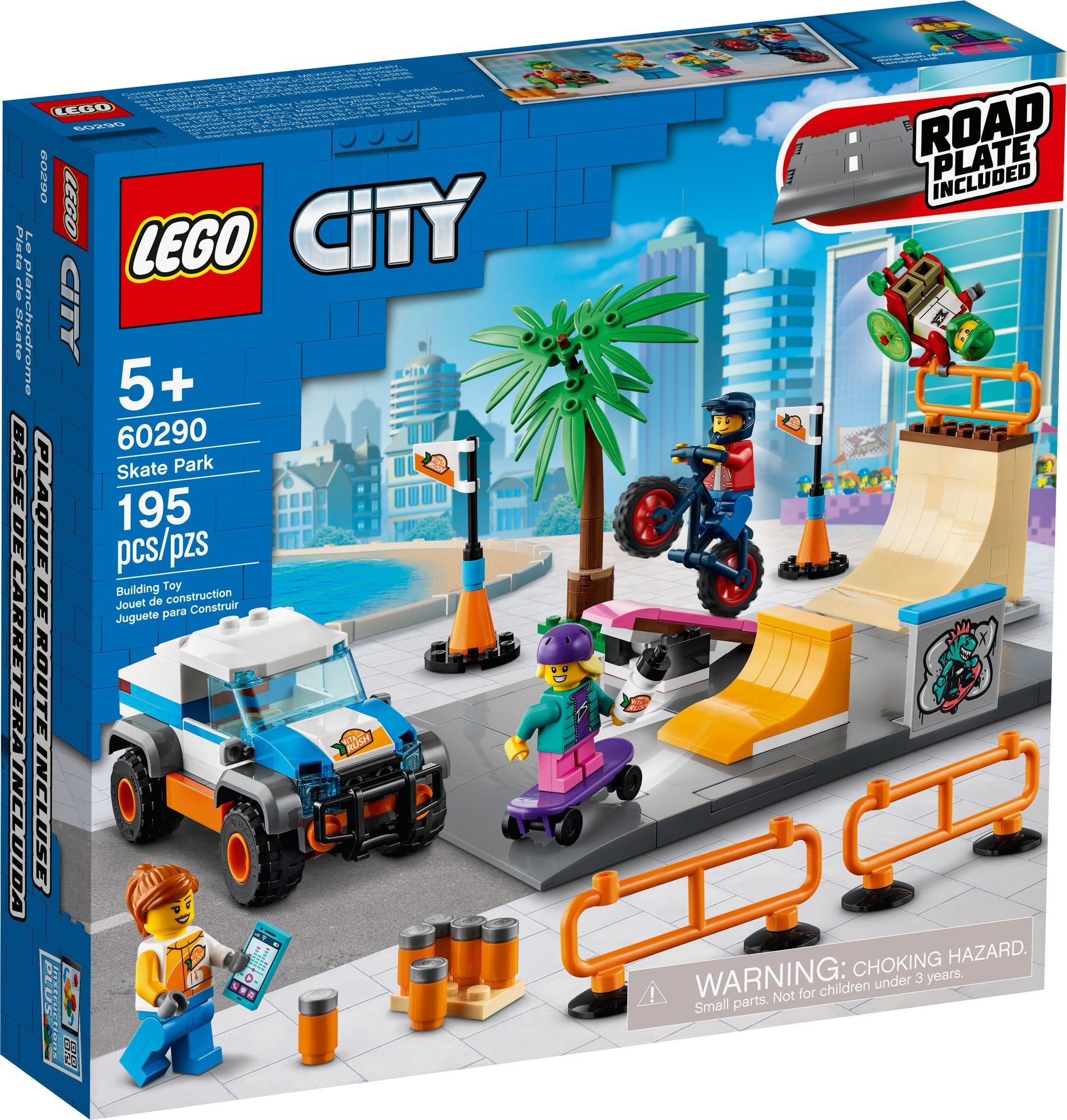 LEGO City 60290 Skatepark (2)