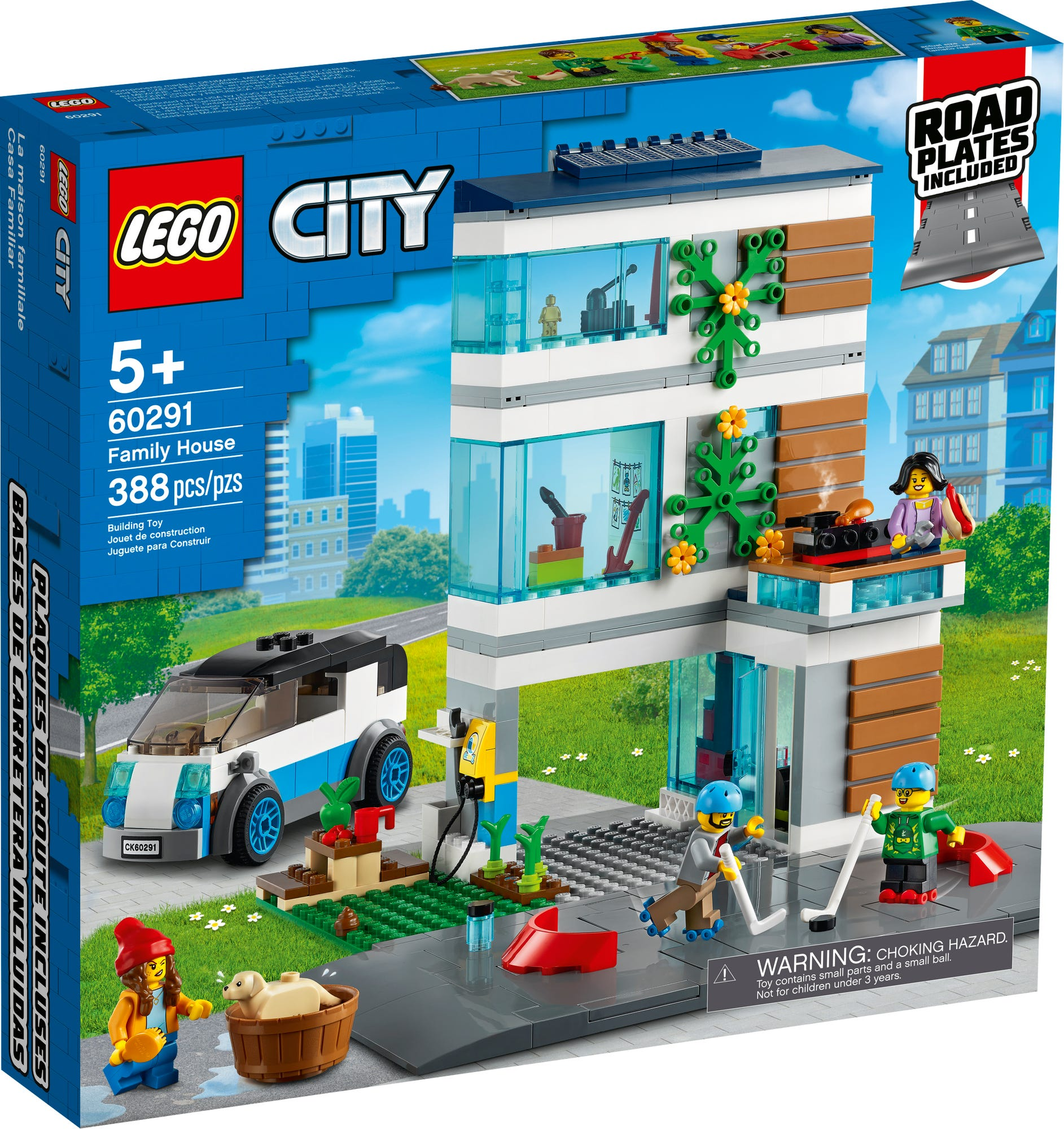 LEGO City 60291 Modernes Familienhaus (2)