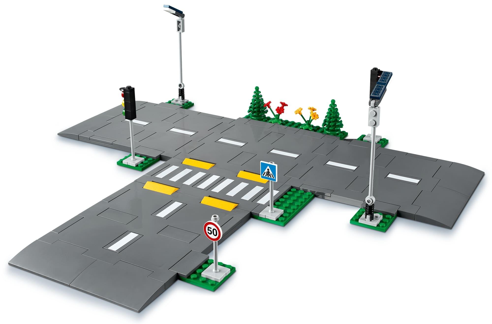LEGO City 60304 Straßenkreuzung Mit Ampeln (5)