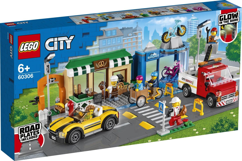 LEGO City 60306 Einkaufsstrasse (1)