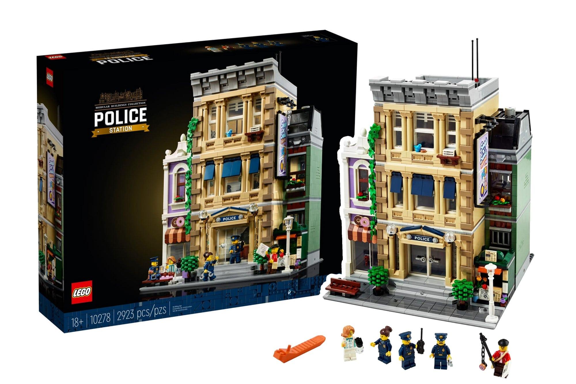 LEGO Creator Expert 10278 Polizeistation Übersicht Scaled