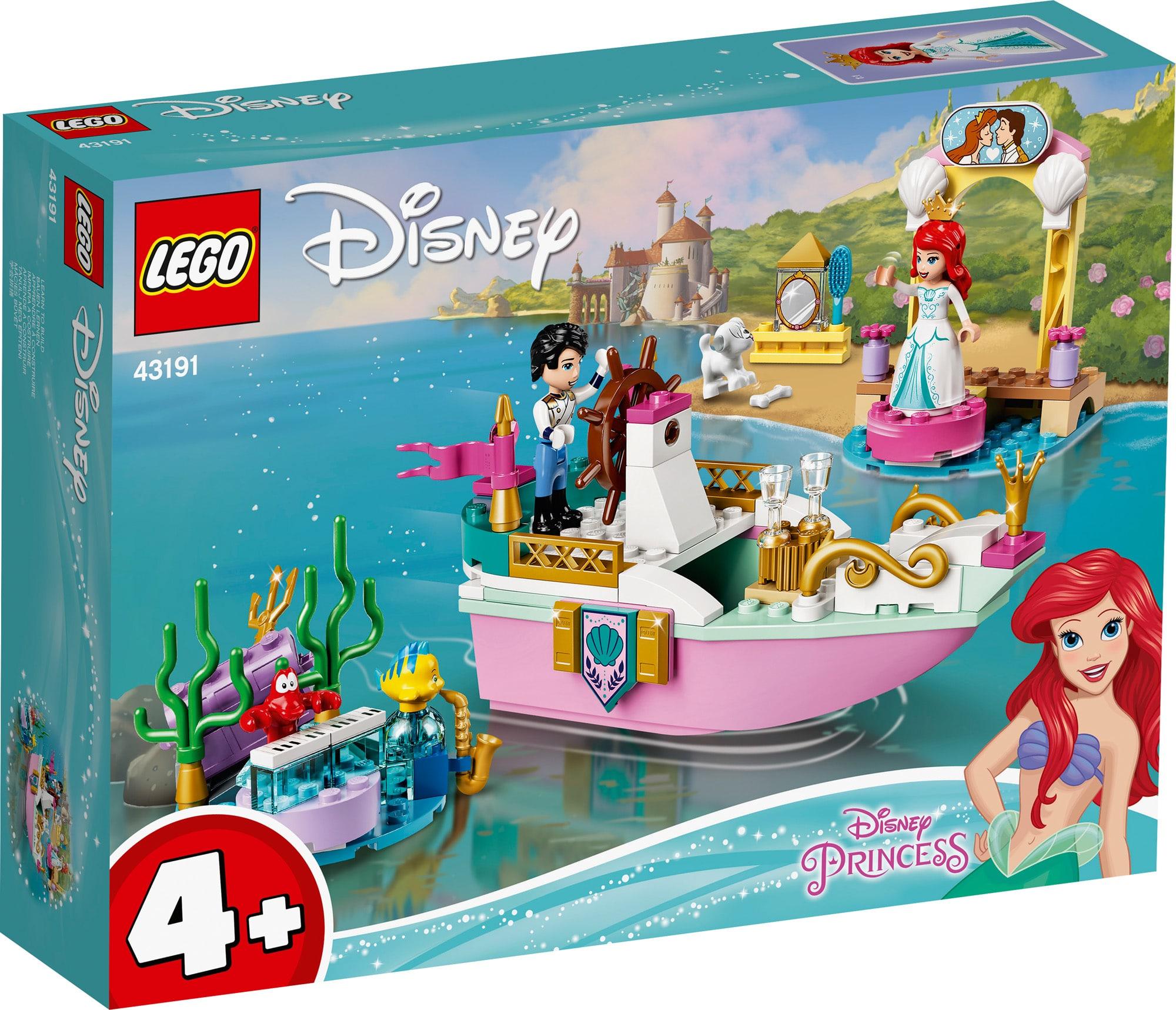 LEGO Disney 43191 Arielles Festtagsboot (1)