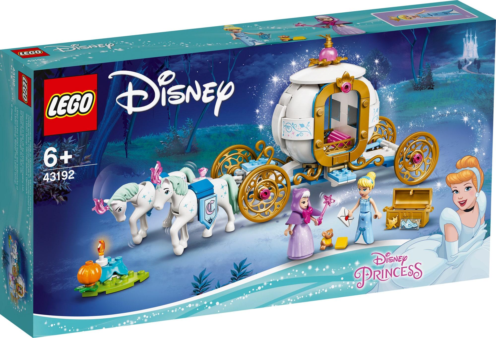 LEGO Disney 43192 Cinderellas Königliche Kutsche (1)