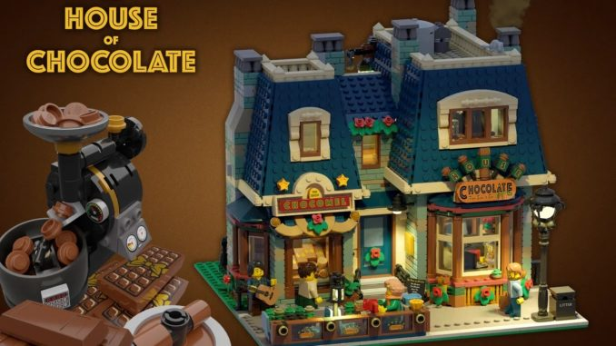 LEGO Ideas House Of Chocolate (1)