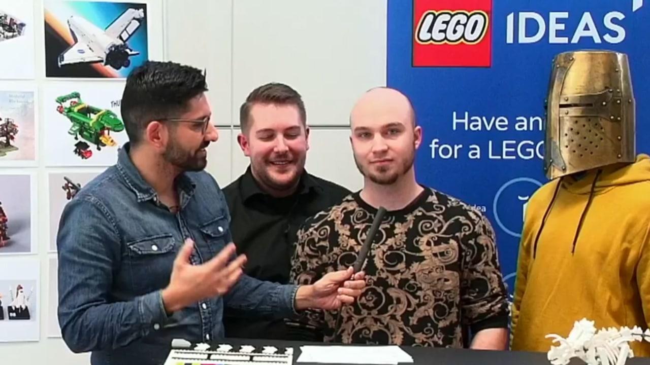 LEGO Ideas Medieval Blacksmith Entwurf Designer