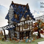 LEGO Ideas Medieval Blacksmith Entwurf Titel