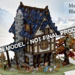 LEGO Ideas Medieval Blacksmith Entwurf Titel