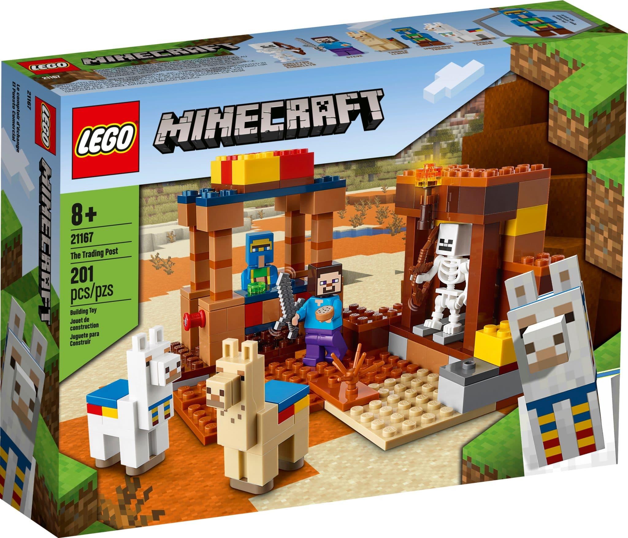 LEGO Minecraft 21167 Handelsplatz