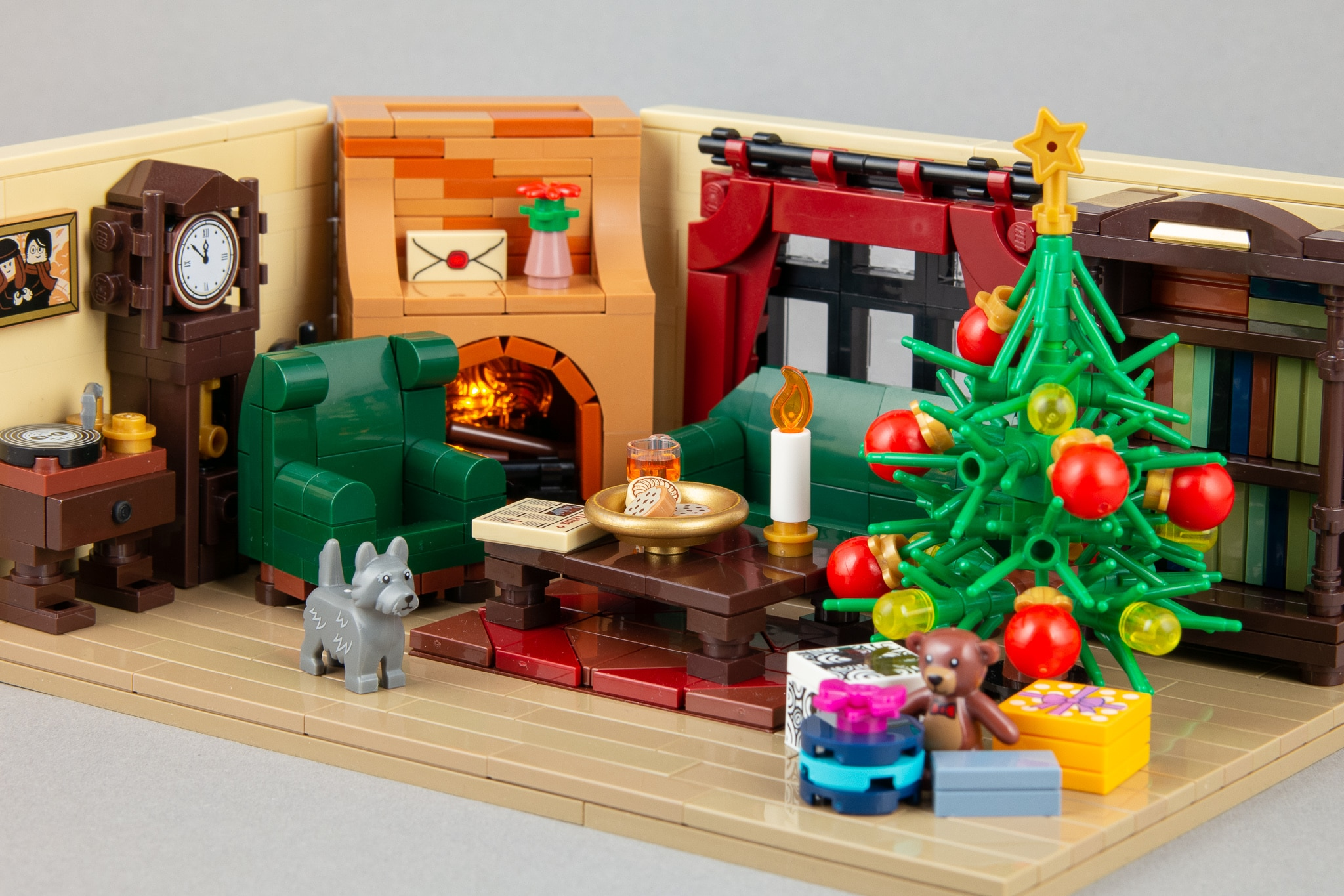 LEGO Moc Weihnachts Wohnzimmer (3)