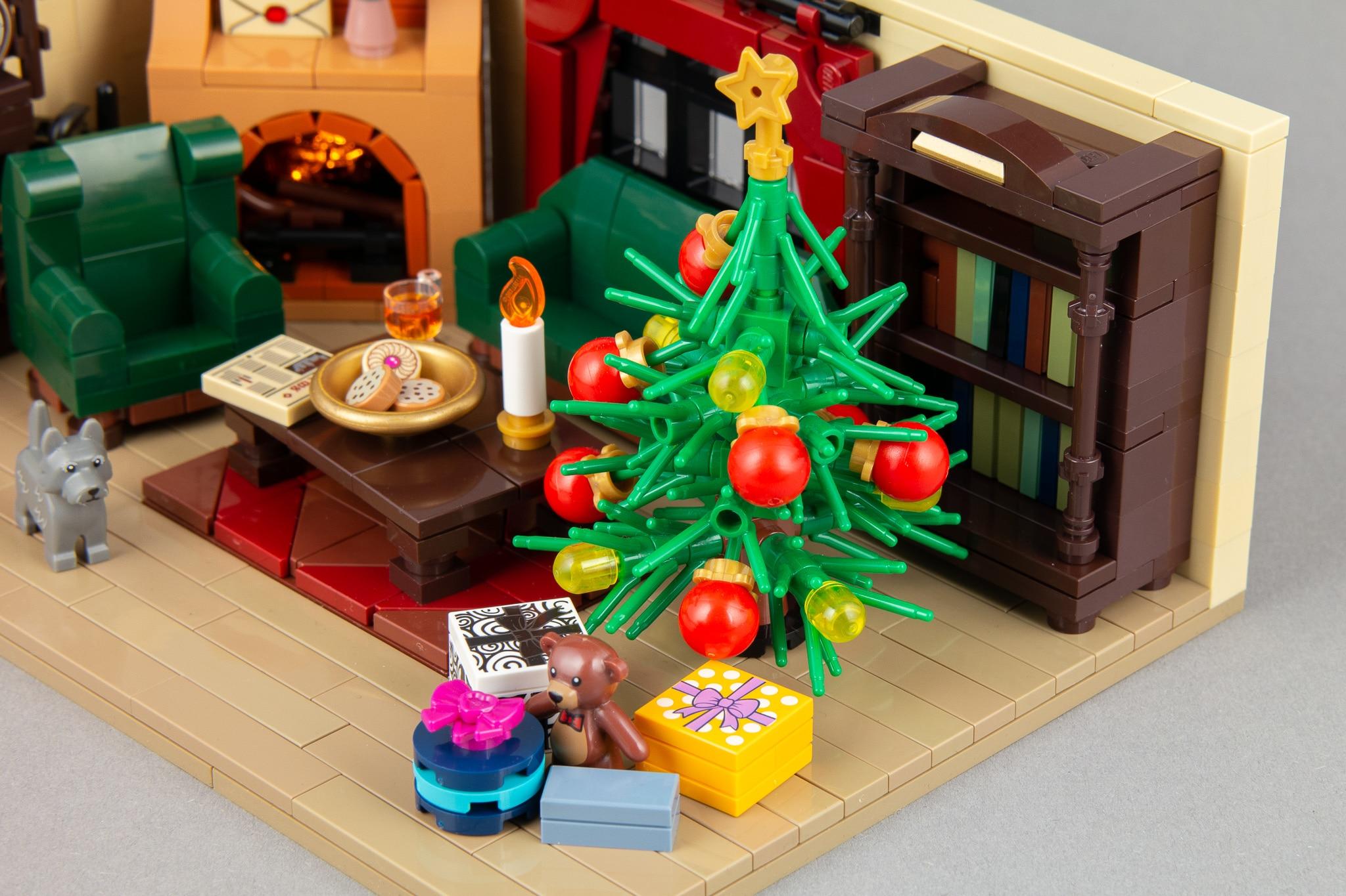 LEGO Moc Weihnachts Wohnzimmer (4)