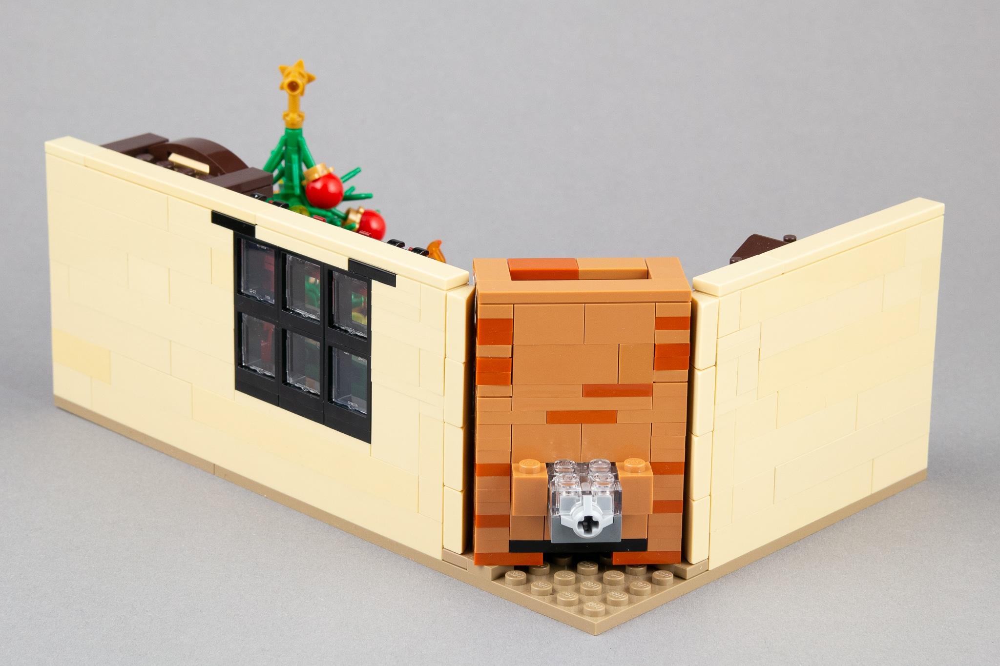 LEGO Moc Wohnzimmer Rueckseite