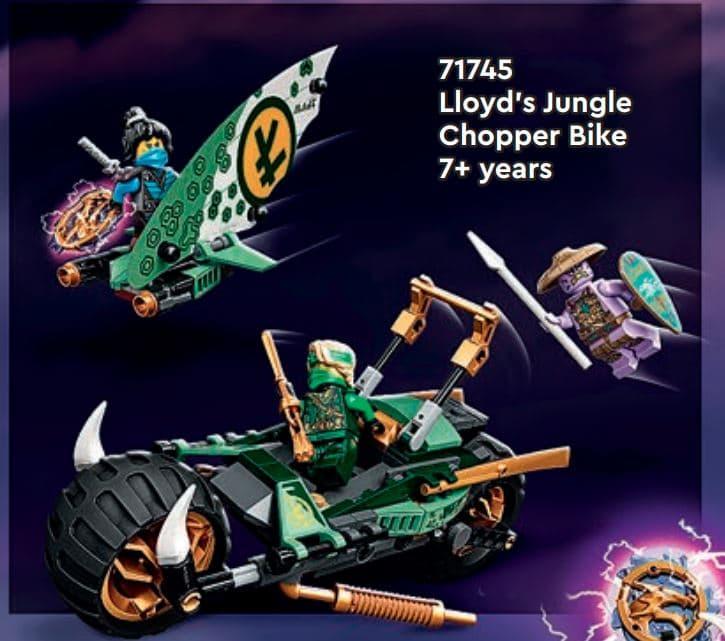 LEGO Ninjago 71745 Lloyds Junge Chopper Bike