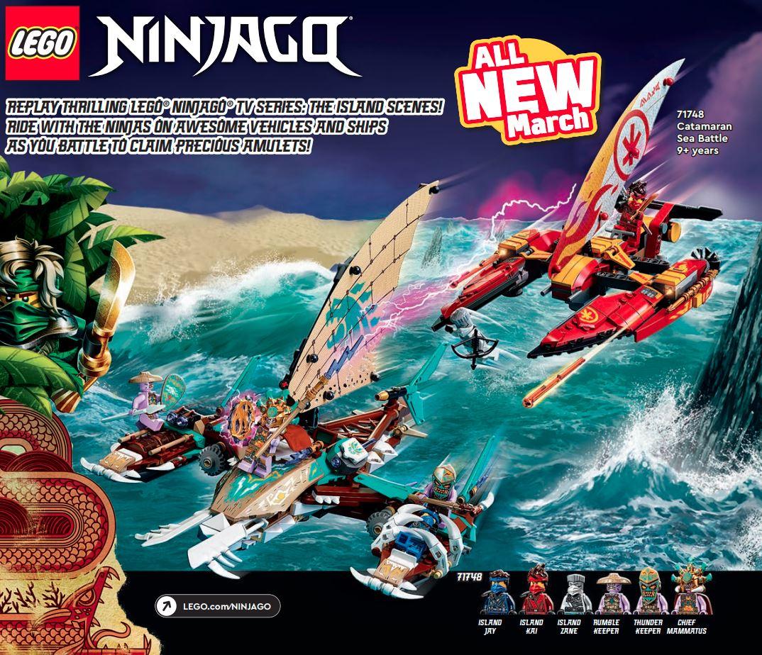 LEGO Ninjago 71748 Catamaran Battle