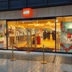 Bild von der Eröffnung des LEGO Stores Hannover