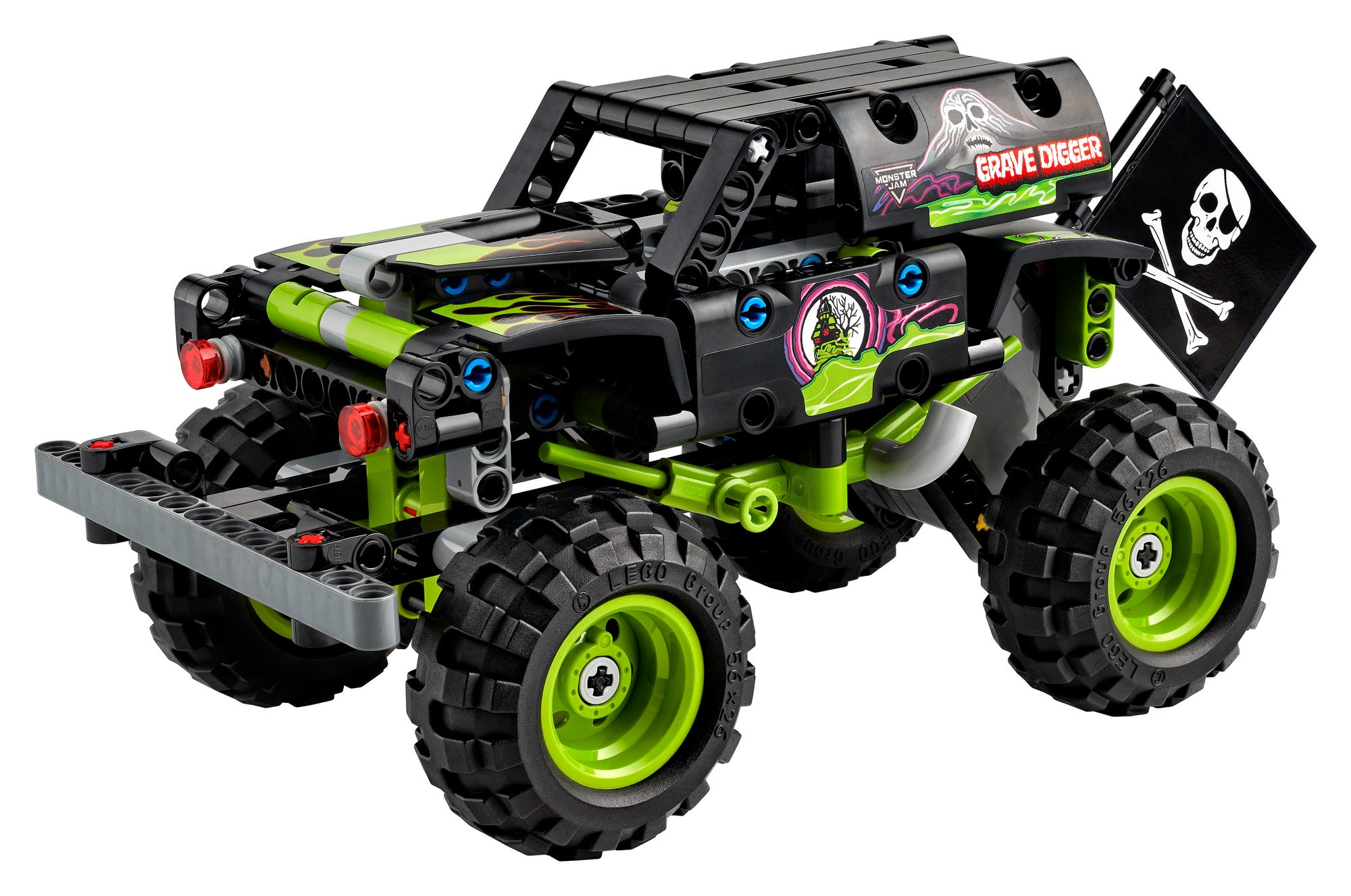 LEGO Technic 42118 Monster Jam Grave Digger (1)