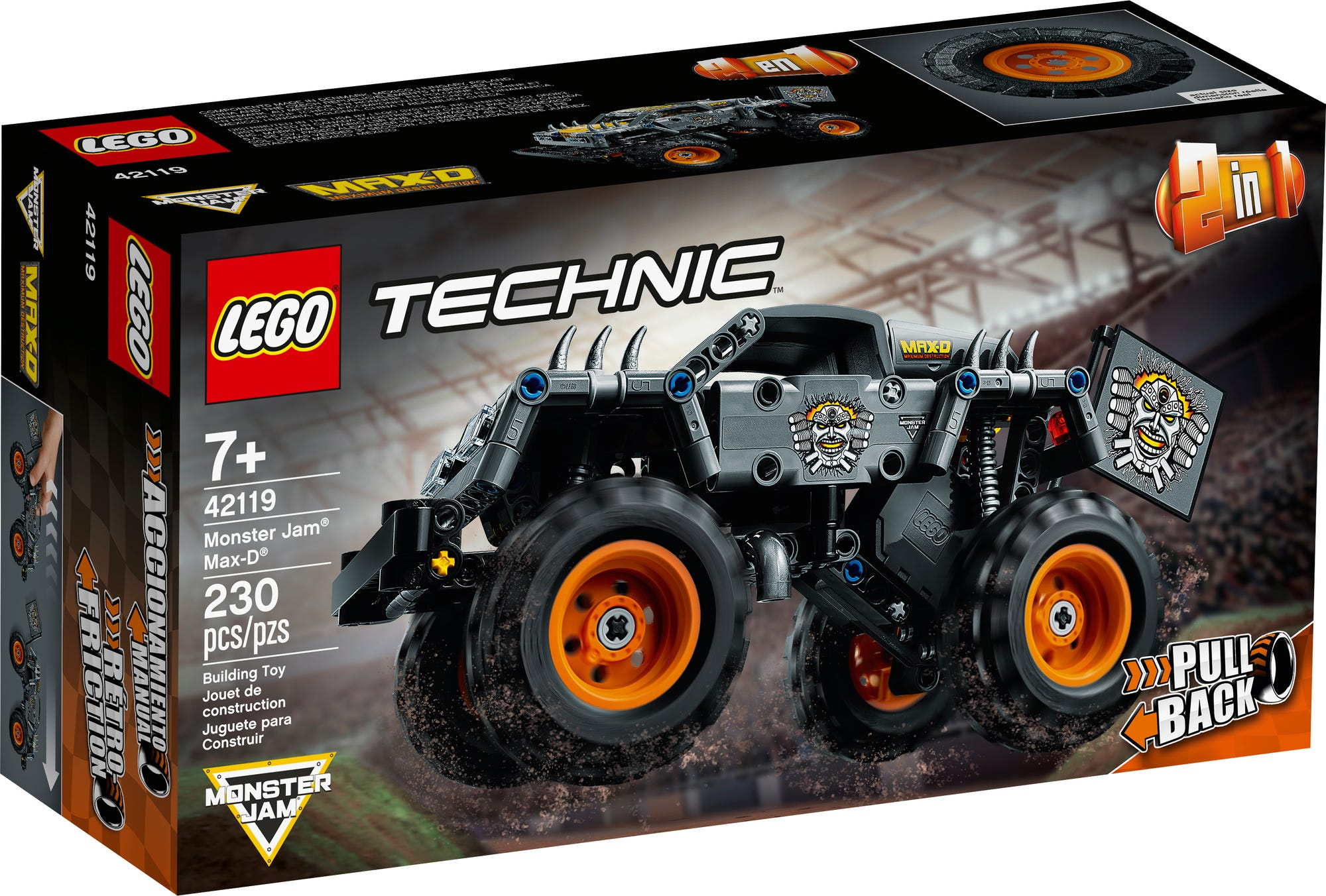 LEGO Technic 42119 Monster Jam Max D (2)