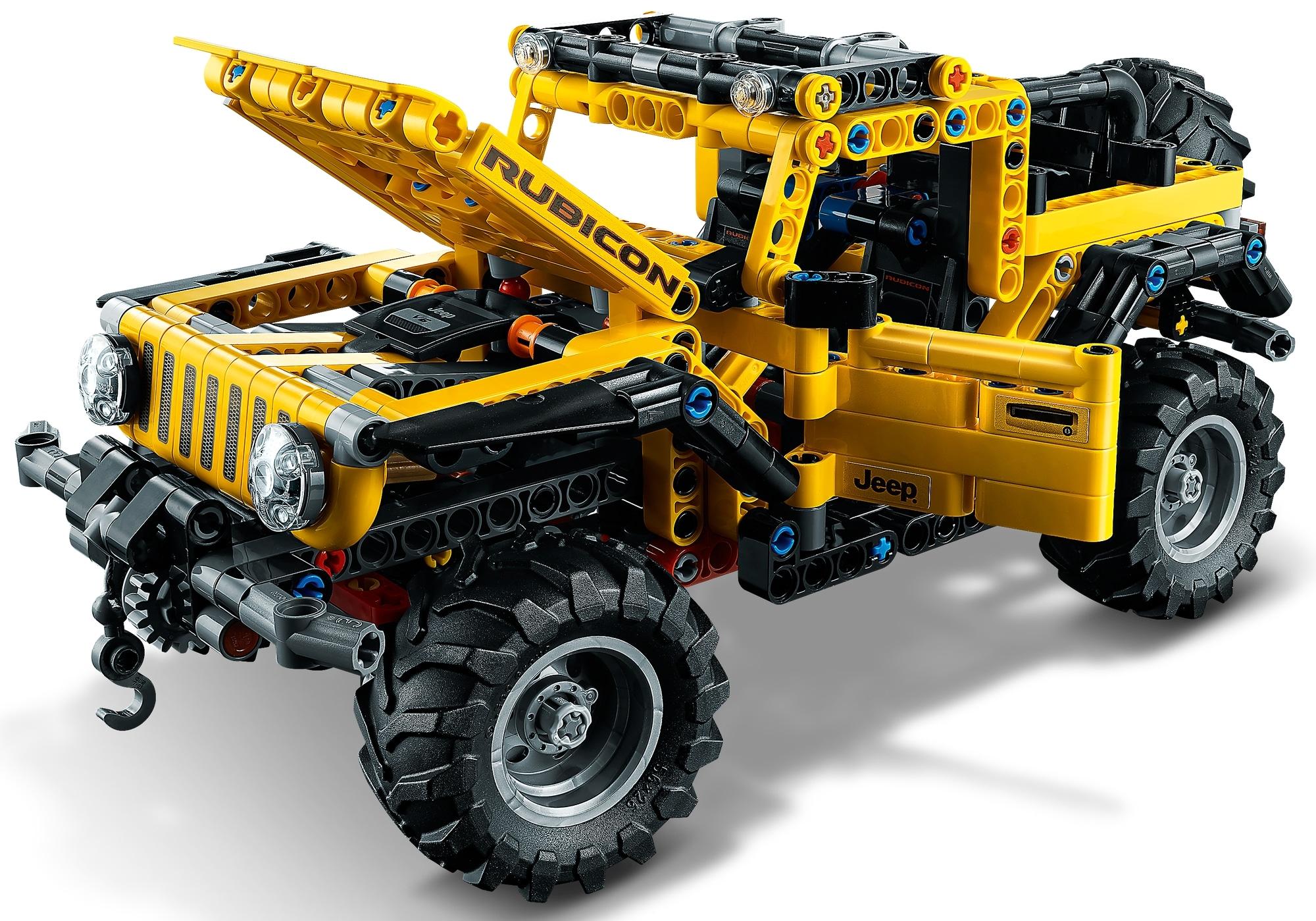LEGO Technic 42122 Jeep Wrangler (12)