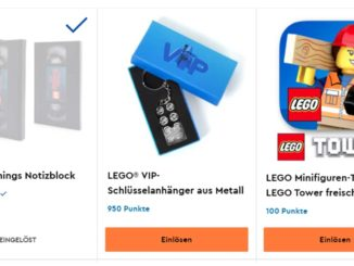 LEGO VIP-Schlüsselanhänger Prämie