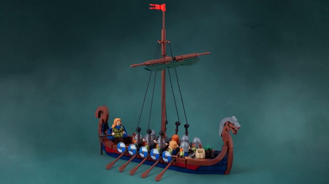 LEGO Wikinger Langboot