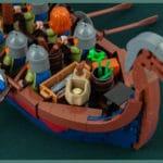 LEGO Wikinger Langboot Detail