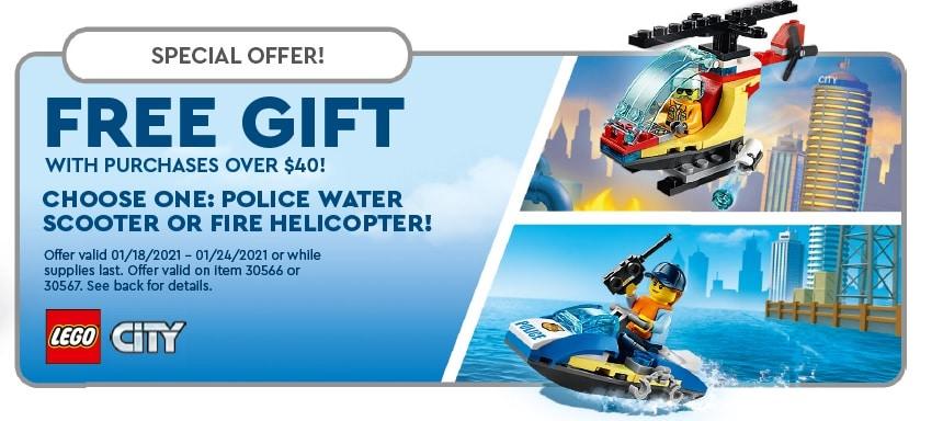 LEGO City Polybag Januar Gwp
