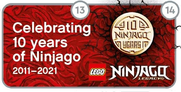 LEGO Us Store Flyer Ninjago