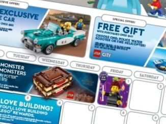 LEGO Us Store Kalender Januar 2021 Quer