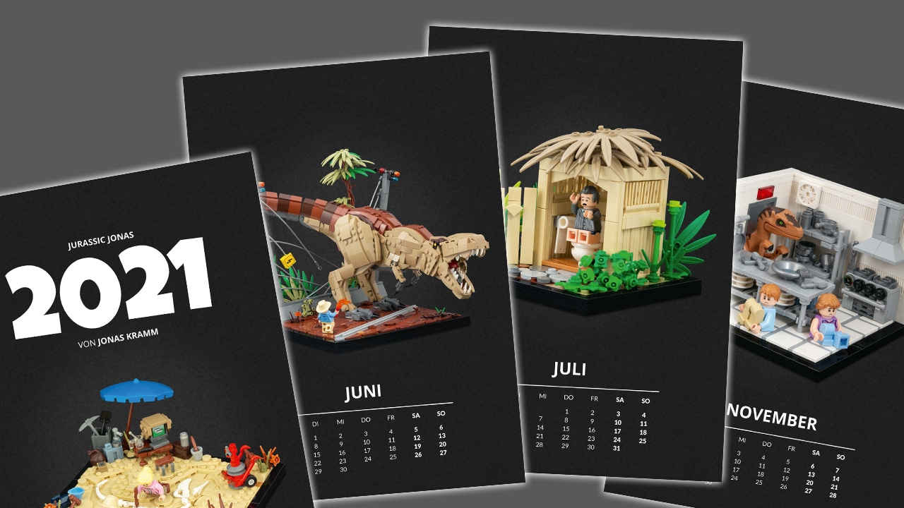 Stonewars Adventskalender Jurassic Jonas Kalender 2021