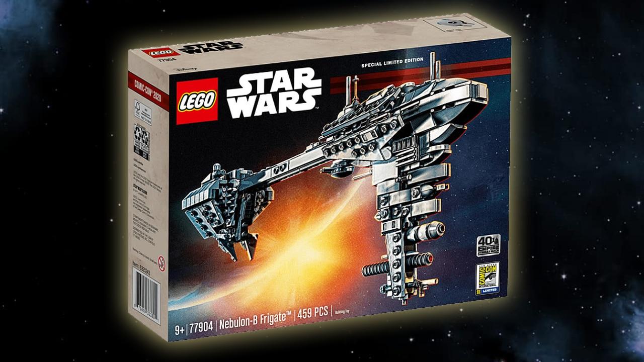 Stonewars Adventskalender LEGO Nebulon B 77904