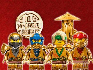 10 Jahre Ninjago Goldene Ninjas Titelbild