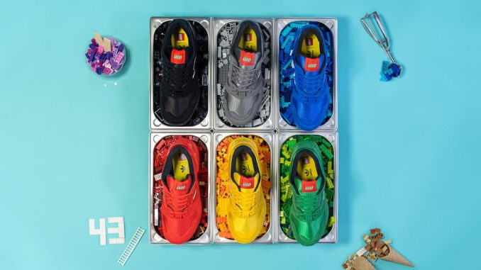 Adidas x LEGO ZX8000 Color Pack