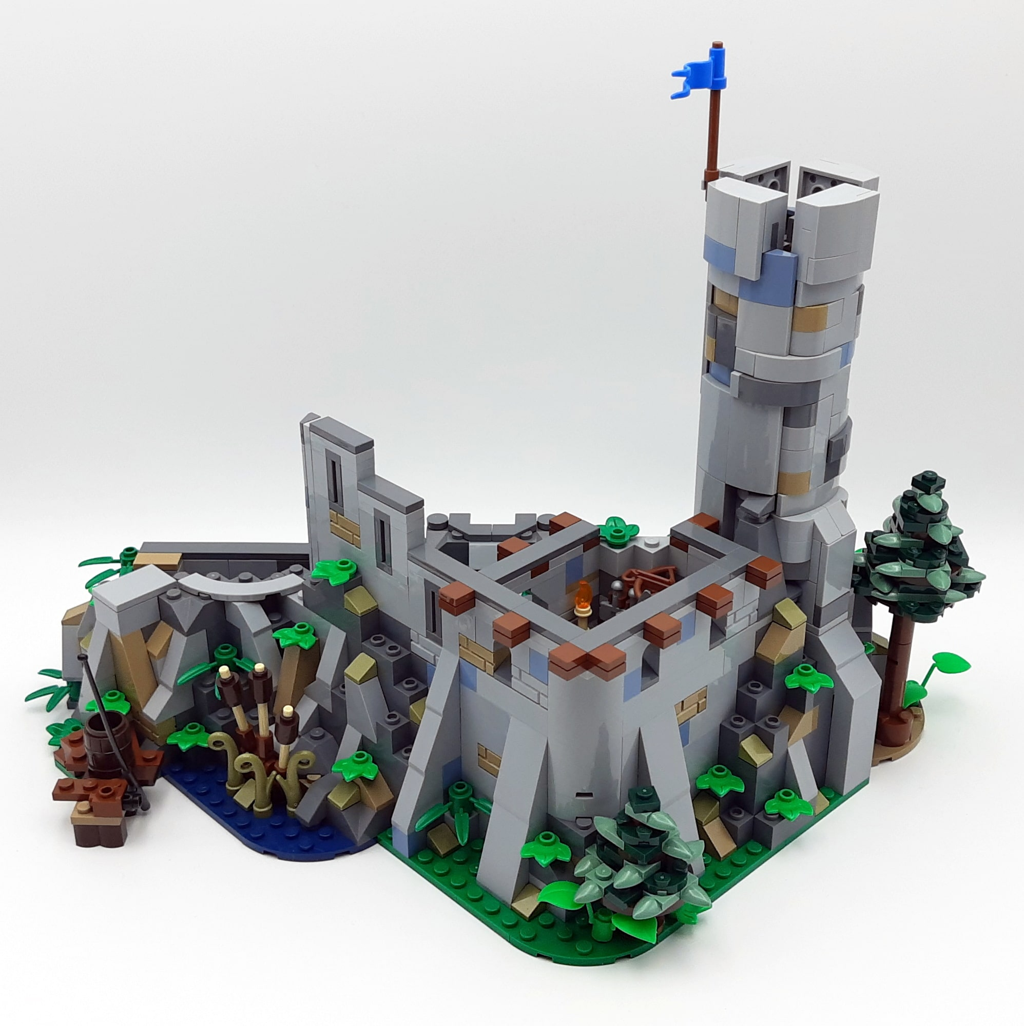 Bl19001 Castle Löwenstein Official Expansion Turm 01