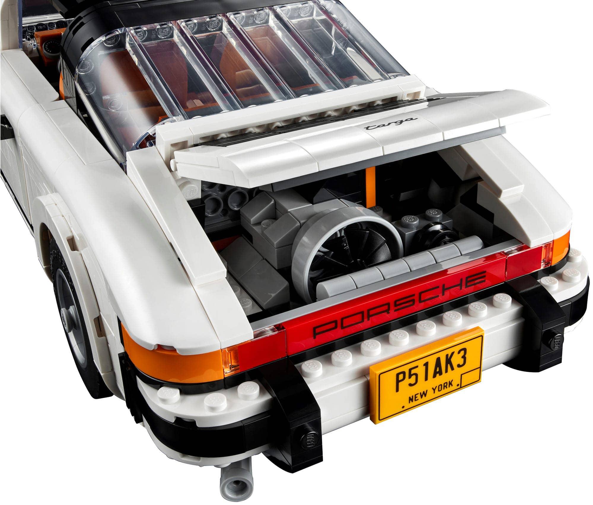 LEGO 10295 Porsche 911 Targa Heck