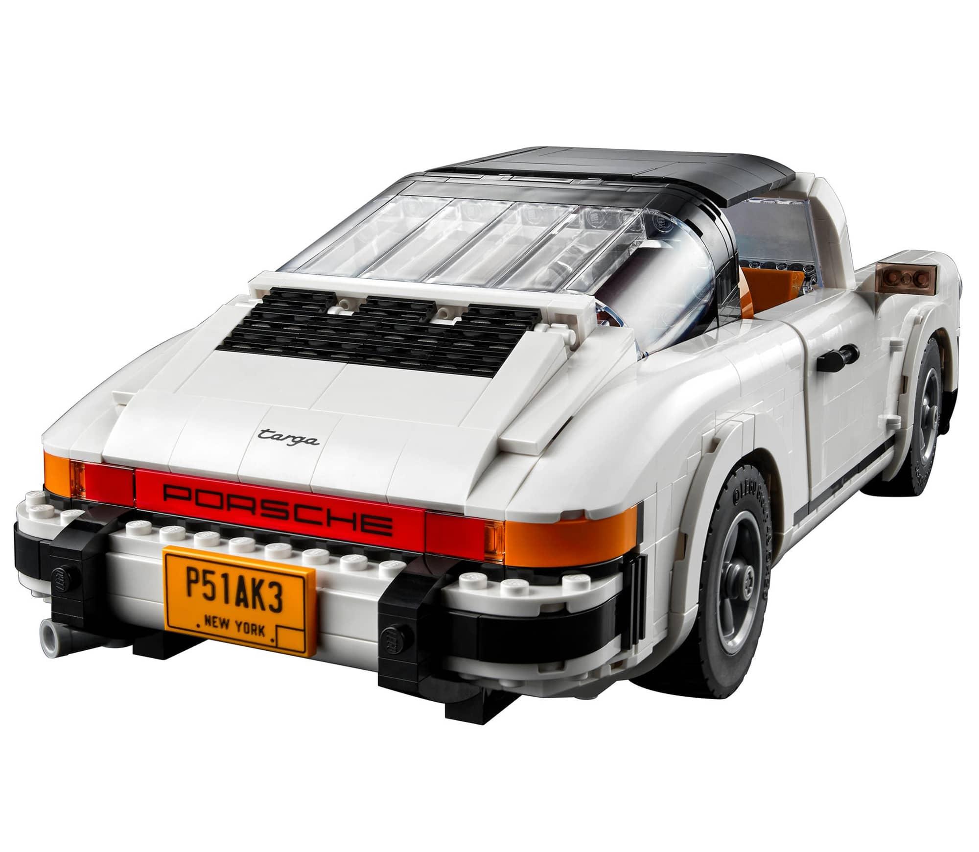 LEGO 10295 Porsche 911 Targa Rueckseite