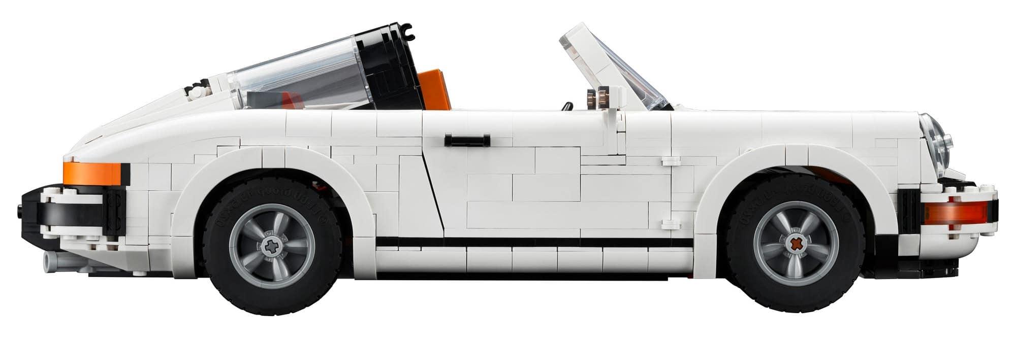LEGO 10295 Porsche 911 Targa Seite