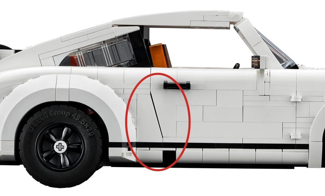 LEGO 10295 Porsche 911 Tueren