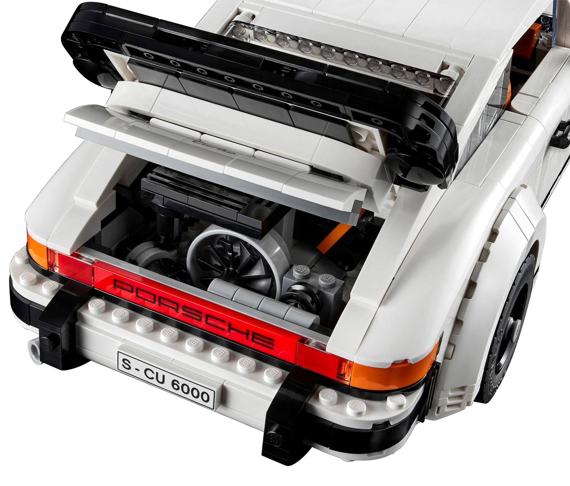 LEGO 10295 Porsche 911 Turbo Heck