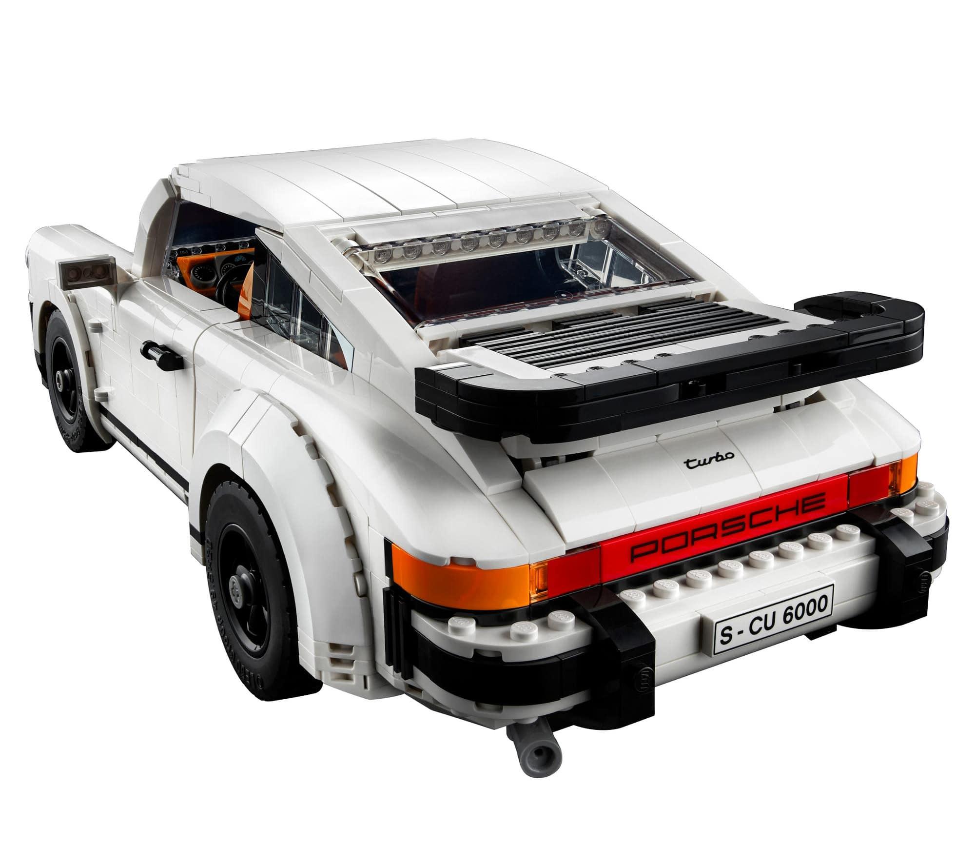 LEGO 10295 Porsche 911 Turbo Rueckseite