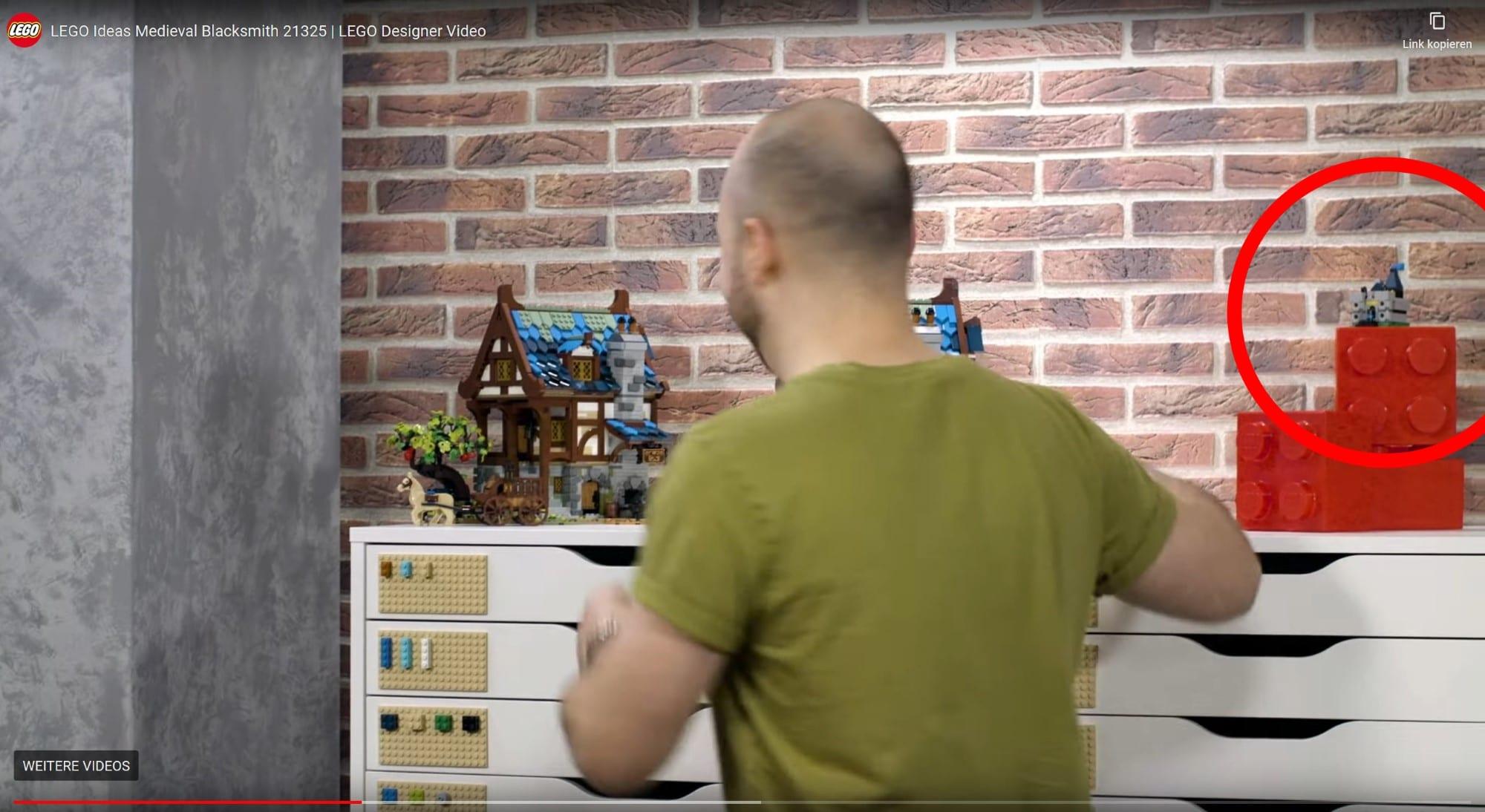 LEGO 21325 Mittelalterliche Schmiede Mögliches Gwp