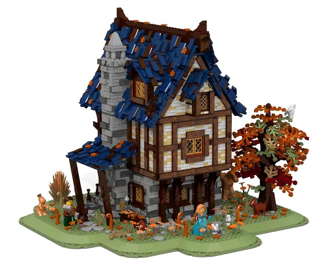 LEGO 21325 Vergleich Ideas 3