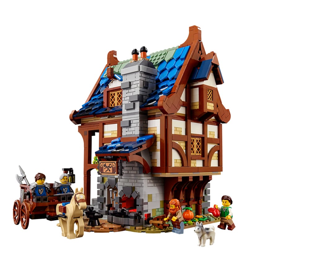 LEGO 21325 Vergleich Ideas 4