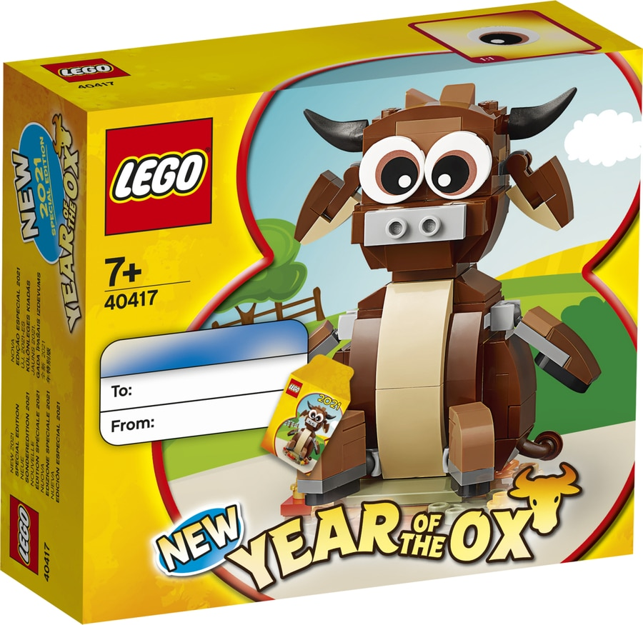 LEGO 40417 Year Of The Ox 2